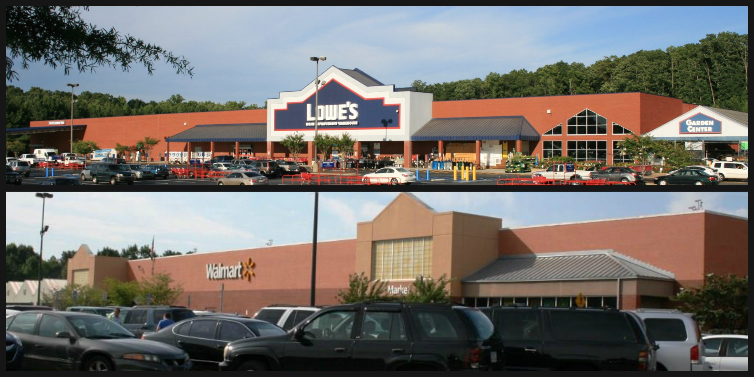 Wal Mart Anchor Tenant & Lowes Shadow Anchor Restaurant Space