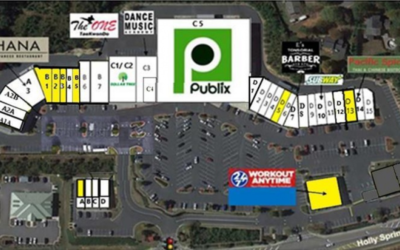 6234 Holly Springs Parkway, Holly Springs, Georgia 30188, ,Retail or Office,Commercial Lease,Holly Springs,1008